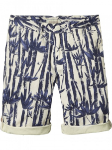 Bilde av Canvas chino shorts med palme motiv fra Scotch Shrunk