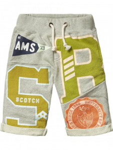 Bilde av Cut & sewn sweat shorts fra Scotch Shrunk