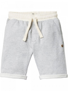 Bilde av Basic garment dyed sweat shorts i grått fra Scotch Shrunk