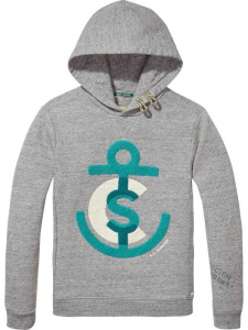 Bilde av Hoody with towel artworks fra Scotch Shrunk
