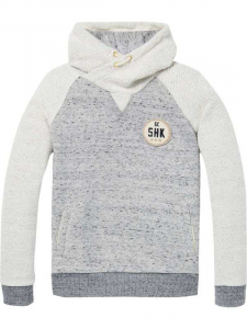 Bilde av Twisted hoody in rich quality fra Scotch Shrunk