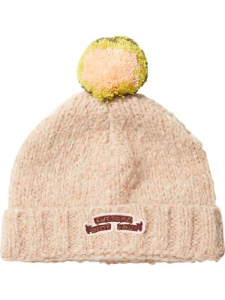 Bilde av Knitted hat with colourful pompom fra Scotch R`Belle