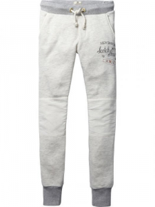 Bilde av Special quality sweat pants with woven details fra Scotch