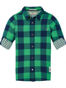 Bilde av Bonded Shirt  Regular fit fra Scotch Shrunk