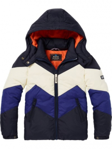 Bilde av Colour Block Jacket fra Scotch Shrunk