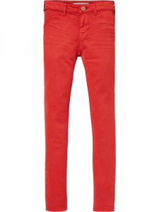 Bilde av Cotton Stretch Trousers Super skinny fit fra Scotch R'belle
