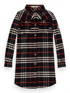 Bilde av Checked Shirt Dress fra Scotch R`Belle