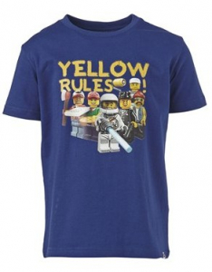 Bilde av Lego Wear t-shirt YELLOW RULES fra Lego Wear