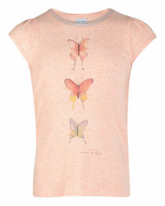 Bilde av Jente t-shirt Alesa str 86-140 i cloud rose fra Mini A Ture
