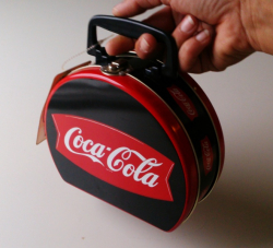 Rund Coca Cola lunch box