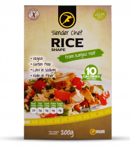 Bilde av Slender Chef Rice Shape 1 x 200g
