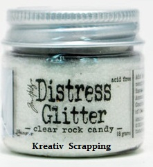 TIM HOLTZ - DISTRESS GLITTER TDG39150 - CLEAR ROCK CANDY