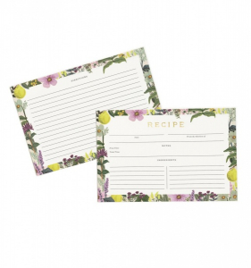 Bilde av Herb garden Recipe Cards Rifle Paper Co