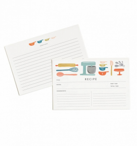 Bilde av Baker's Recipe Cards Rifle Paper Co