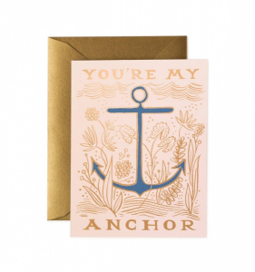 Bilde av My Anchor kort Rifle Paper Co