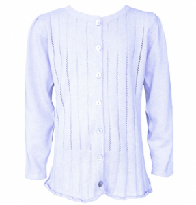 Bilde av ´cardigan med folder ice blue