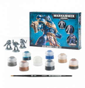 Bilde av Space Marines + Paint Set