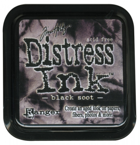 DISTRESS DYE INKS PAD - Black Soot