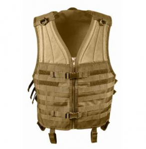 Bilde av MOLLE Vest - Coyote Brown