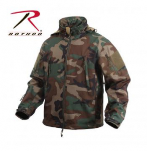 Bilde av Special Ops Tactical Softshell Jacket - Woodland Camo