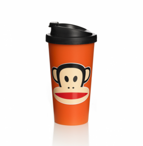 Bilde av To go cup orange fra Paul Frank
