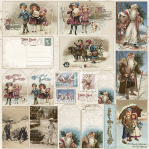 MAJA DESIGN - VINTAGE FROST BASIC 673 - CHRISTMAS DIECUTS