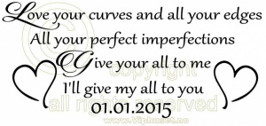 Bilde av Love your curves and all your