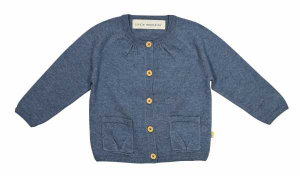 Bilde av Cardigan i jeans fra Little Mountains