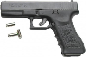 Bilde av G17 Startpistol 8mm -  Sort
