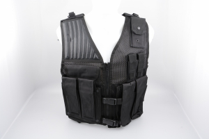 Bilde av GO! Airsoft Vest - Sort