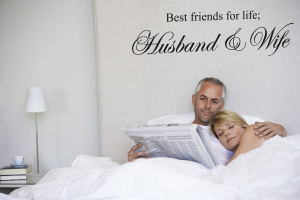 Bilde av Best friends for life; Husband & Wife