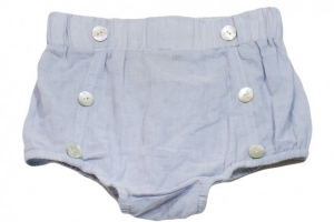 Bilde av Baby shorts Miles bloomer faded blue fra Memini