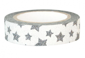 Bilde av GreenGate, tape  Star silver