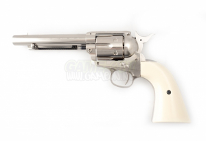 Bilde av Colt Peacemaker SAA .45 - Nickel -  4.5mm Pellets