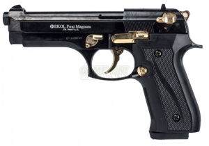 Bilde av F92 Black/Gold - Startpistol - 9mm PAK