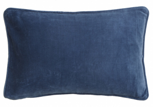 Bilde av Bungalow Velour putetrekk China blue
