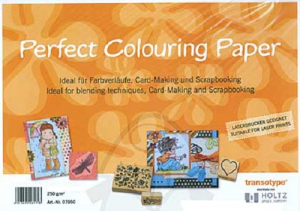 COPIC - PERFECT COLOURING PAPER A4 - 10 stk