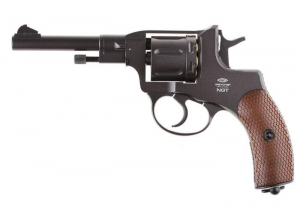 Bilde av Gletcher - 1895 Nagant Revolver Full Metall - 4.5mm BB - Black