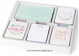 PROJECT LIFE - CORE KIT 380467 - SOUTHERN WEDDINGS