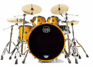 Bilde av Mapex Saturn V Amber maple Burl shell pack