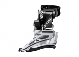 Bilde av Shimano SLX FD-M7025-H 2 x 11-delt High Clamp, Down Swing Frontg