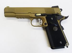 Bilde av WE - 1911 MEU med Rail TAN