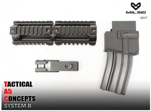 Bilde av TA5C System B - 8in Rail System And Magwell Kit For A5