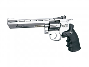 Bilde av Dan Wesson Revolver 6 Chrome - 4.5mm BB
