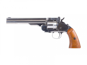 Bilde av Schofield No. 3 Revolver - Full Metall - 4.5mm BB - Nickel