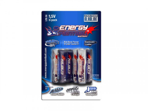 Bilde av Energy Paintball - AA Batteri - 6pk