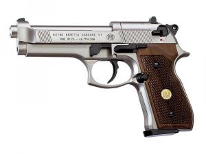 Bilde av Beretta 92FS Nickel - Tre Grip - 4.5mm