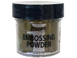TSUKINEKO IMAGINE - EMBOSSING POWDER 001 - GOLD