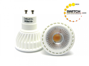 Bilde av 6w GU10 2800-2200k Switch