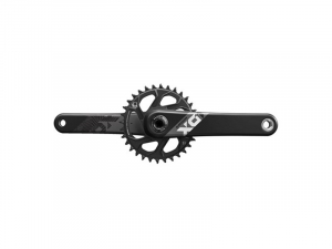 Bilde av Sram Eagle X01 BB30 Boost, 32T, 12-delt Black/Grey Kranksett